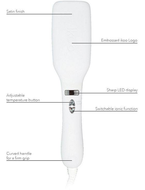 electric brush that straightens hair