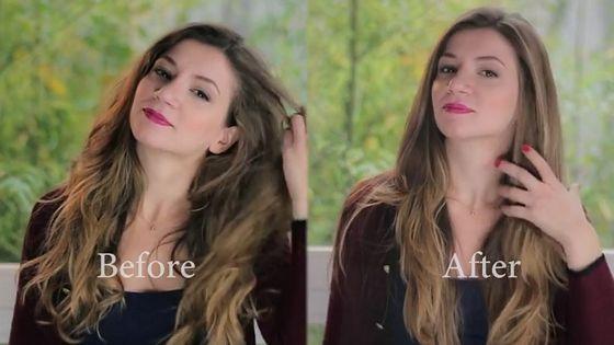 hair brush that straightens hair