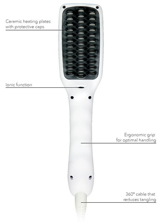 ikoo E-Styler Hair Straightening Brush