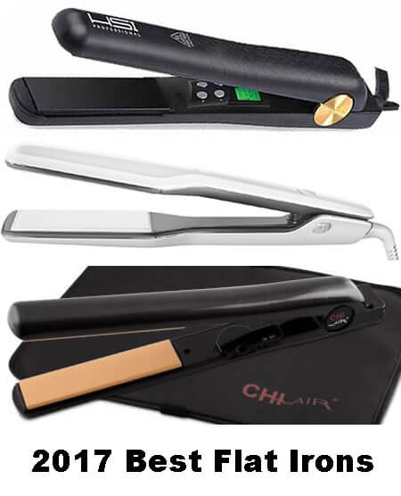top rated flat irons 2017